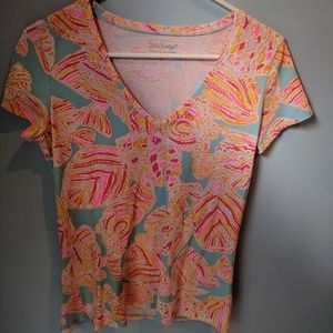 Lilly Pulitzer Michelle Tee S